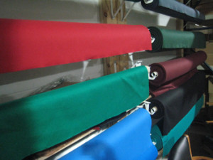 Lake Charles pool table recovering table cloth colors