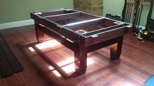 Correctly performing pool table installations, Lake Charles Louisiana